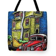 Crooked House Tote Bag