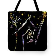 Crooked Little Cottage In The Woods Tote Bag