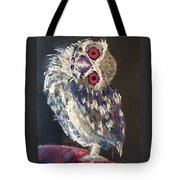 Crooked Owl Tote Bag