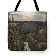 Crooked River Tote Bag
