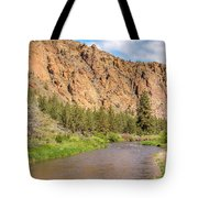 Crooked River II Tote Bag