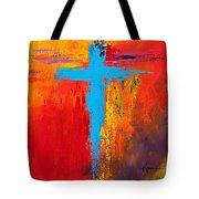Cross 3 Tote Bag