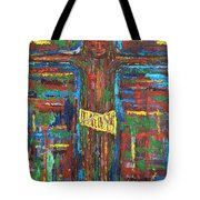 Cross 3 Tote Bag