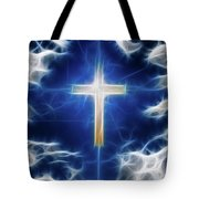 Cross Abstract Tote Bag