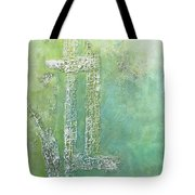 Cross And Fish  Tote Bag