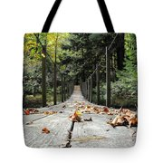 Cross At Own Risk Tote Bag