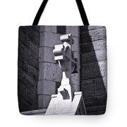 Cross At St. Johns Tralee Ireland Tote Bag