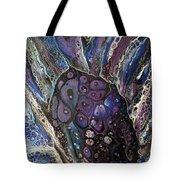 Cross Event Horizon Tote Bag