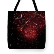 Cross Fire Tote Bag