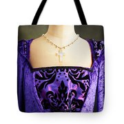 Cross Necklace Tote Bag