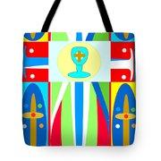 Cross Of Colors Tote Bag
