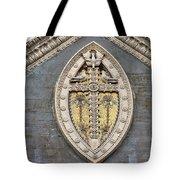 Cross On High Tote Bag