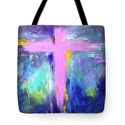 Cross - Painting #5 Tote Bag