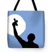 Cross Sky Tote Bag