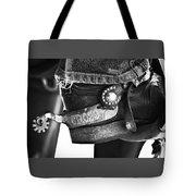 Cross' Spurs Tote Bag