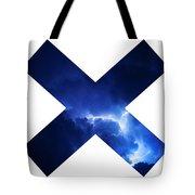 Cross Storm Tote Bag