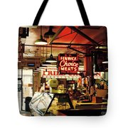 Cross Street Market In Baltimore Tote Bag