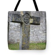 Cross Tombstone St. Mary's Wedmore Tote Bag