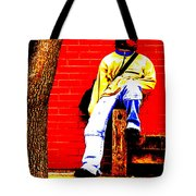 Cross Town Run Tote Bag