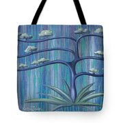 Cross Tree Tote Bag