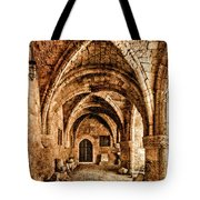 Rhodes, Greece - Cross Vault Tote Bag