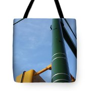 Cross Walk Pole Tote Bag