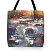 Crosscurrents Tote Bag