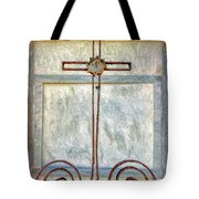 Crosses Voided - Artistic Tote Bag