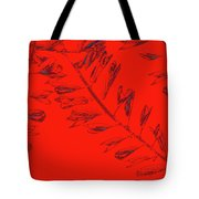 Crossing Branches 12 Tote Bag