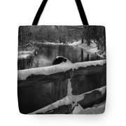 Crossing Cedar Creek Tote Bag