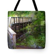 Crossing Over I Tote Bag