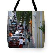 Crossing San Juan Tote Bag