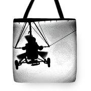Crossing The Air Tote Bag