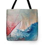 Crossing The Bar Tote Bag