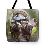 Crossing The Creek Tote Bag