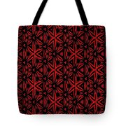 Crossing The Line Abstract  Tote Bag
