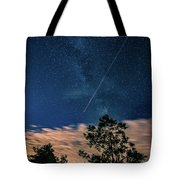Crossing The Milky Way Tote Bag
