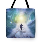 Crossing The Red Sea  Tote Bag