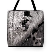 Crossing The Shadow Line Tote Bag