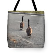 Crossing The Street Tote Bag