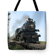 Crossing The Trestle Tote Bag