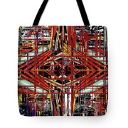 Crossing To Eye V 3 Tote Bag