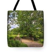 Crossing Toms Creek Tote Bag
