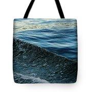 Crossing Waves Tote Bag