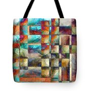 Crossover Abstract Pencil Tote Bag