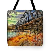 Crossover Tote Bag