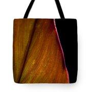 Croton Leaf Tote Bag