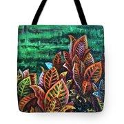 Crotons 4 Tote Bag