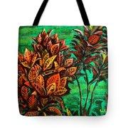 Crotons 5 Tote Bag