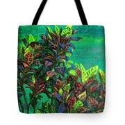 Crotons 7 Tote Bag